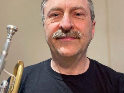 Trumpet player John McGregor